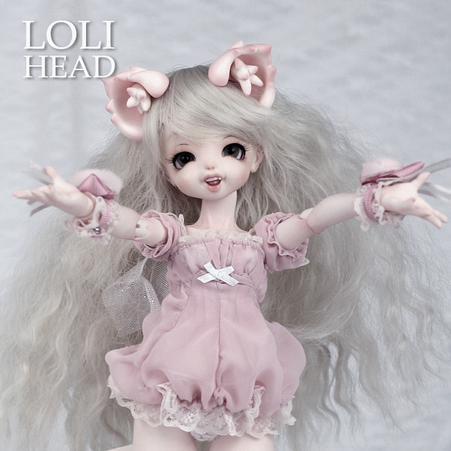BJD,돌팜(DOLLPAMM),LOLI 'MOCHI' Head