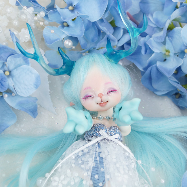 BJD,돌팜(DOLLPAMM),(15limit)ZOO-'Little Ice ARUBI'