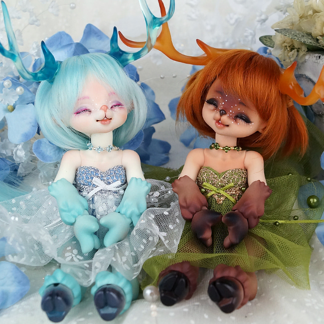 BJD,돌팜(DOLLPAMM),ZOO-'Little Ice/Pure ARUBI' (Basic)