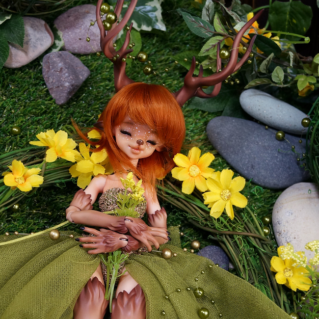 BJD,돌팜(DOLLPAMM),'Pure-ARUBI'(Special full set)-sale end
