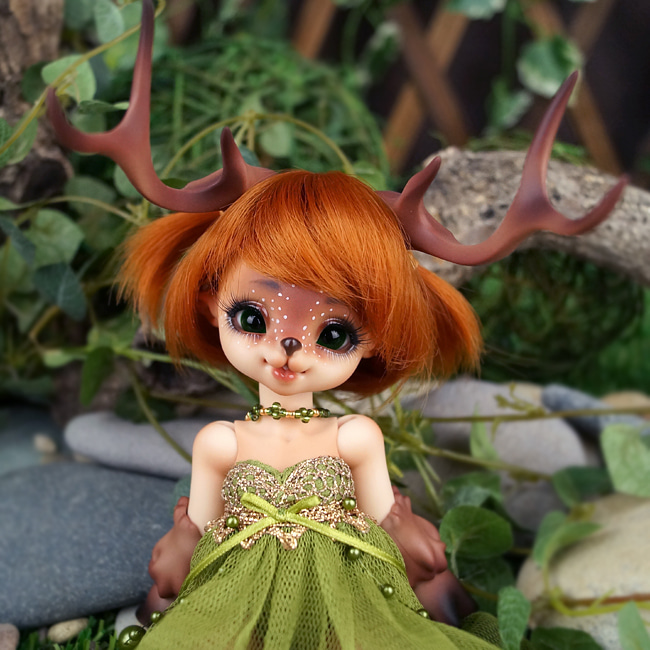 BJD,돌팜(DOLLPAMM),(15limit)ZOO-'Little Pure ARUBI'