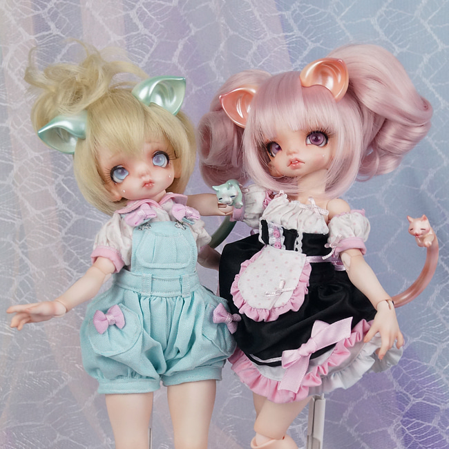 BJD,돌팜(DOLLPAMM),FAIRY CAT Parts set