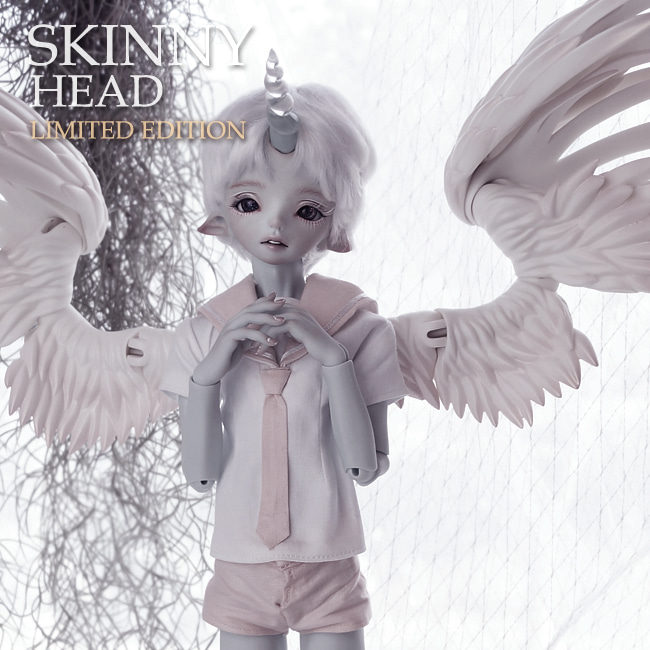 돌팜(DOLLPAMM)(100Limit) SKINNY 'Unicorn SERAVIE' Head